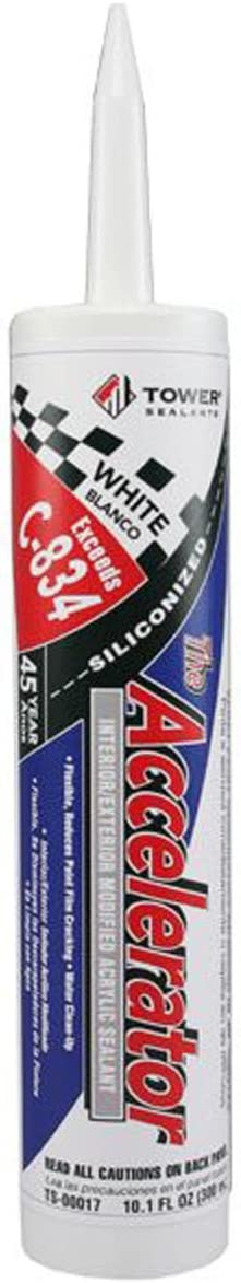 Tower Sealants TS-00017 10.5 fl-Ounce Dealing full price reduction Acrylic Accelerator Wholesale The Si