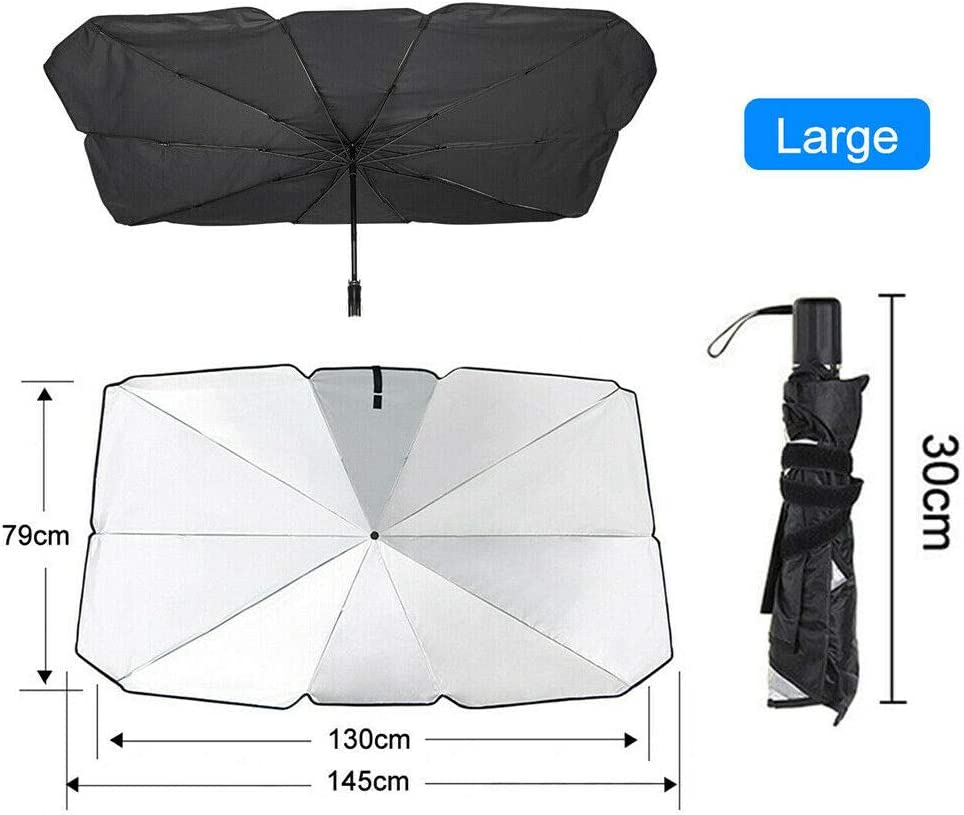 KGASYUI Windshield Sun Shade Sunshade Windshiel Foldable Factory outlet Max 80% OFF Car