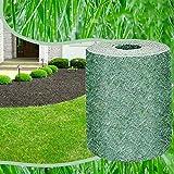 WFEI Estera de Semillas de césped Biodegradable, Alfombra de Suelo sólido para césped Fertilizante Manta ecológica, Alfombra de Semillas de césped Almohadilla de plantación,10 * 0.2M