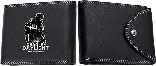Dead by Daylight Zaino Patente sacchetto della carta Portafoglio Multi-carta di posizione degli uomini con i pulsanti a pi...