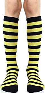 Knee High Socks with Grips for Babies, Toddlers and Children (1 Pair)
