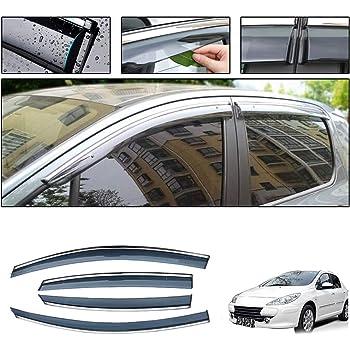 for Suzuki SX4 Hatchback 2006-2019 Smoke Deflector Sun Rain Visor Guard Wind Deflectors Car Styling Front Rear Shade Vent Window