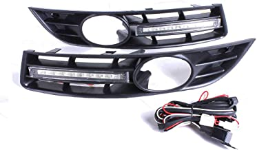 Oneuda Car LED Light LED DRL Daytime Running Light with Grill Surround for VW Passat B6 2006 2007 2008 2009 2010 2011 Waterproof