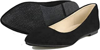 Women's Casual Ballet Flats Pointed Toe Comfort Classic Slip Ons Shoes