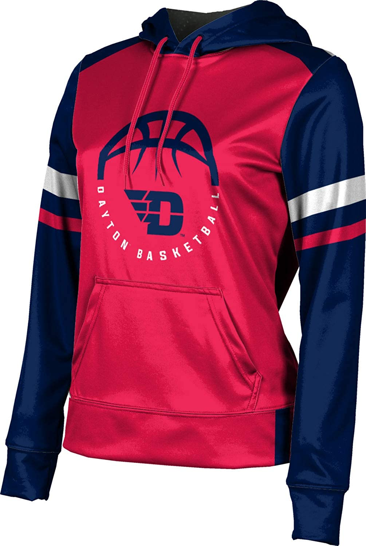 ProSphere University of Dayton Basketball Girls' Pullover Hoodie, School Spirit Sweatshirt (Old School)
