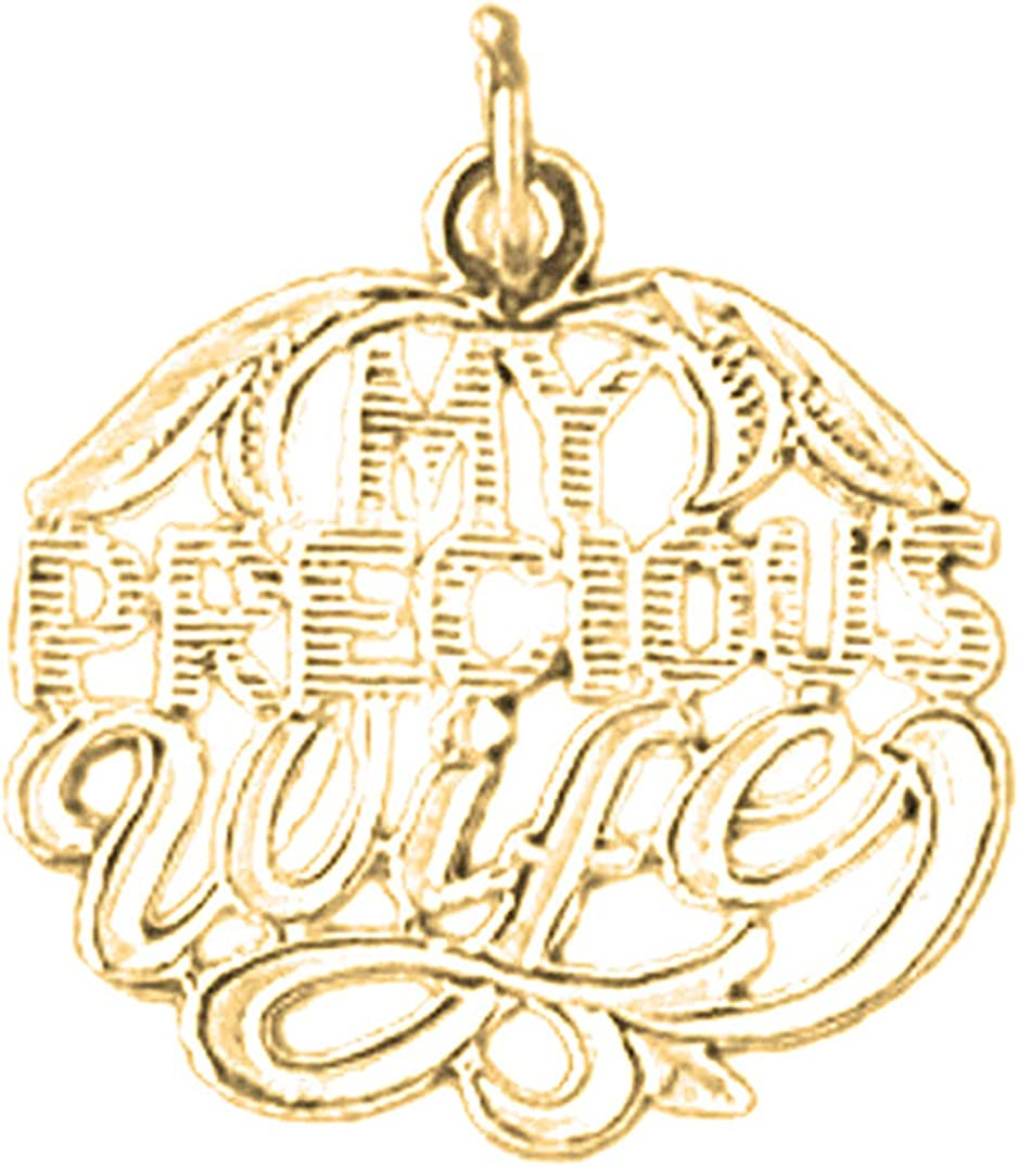Jewels Obsession Max 48% OFF Silver 2021 autumn and winter new My Precious 14K Pendant Gold-pl Yellow