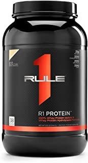 R1 Protein Whey Isolate/Hydrolysate, Rule 1 Proteins (38 Servings, Vanilla Butter Cake)