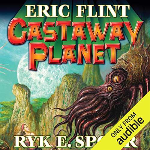 Castaway Planet audiobook cover art