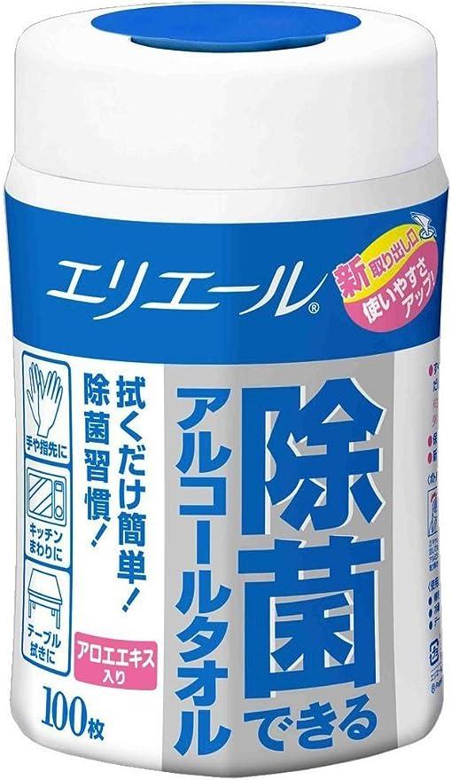 大王製紙 エリエール 除菌できるアルコールタオル