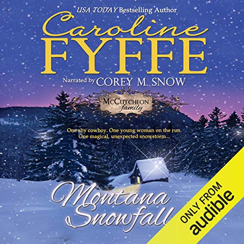 Montana Snowfall audiobook cover art