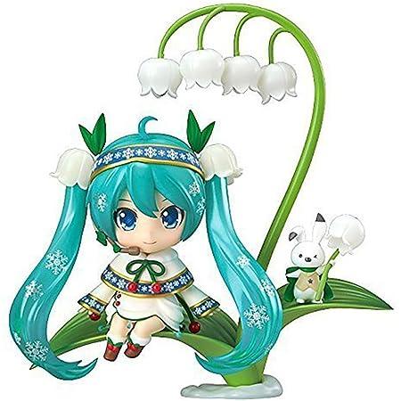 ねんどろいど キャラクター・ボーカル・シリーズ01 初音ミク 雪ミク Snow Bell Ver. ノンスケール ABS&PVC製 塗装済み可動フィギュア
