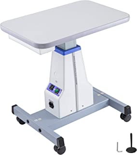 VEVOR Motorized Instrument Table Professional Adjustable Optical Eyeglass Motorized Instrument Work Table for 2 Instruments (A16 22.8