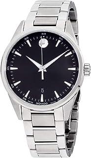 Movado Stratus Quartz Movement Black Dial Men's Watch 607243