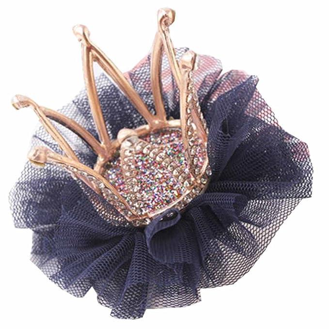 Baby/&Girl Crystal Hair Clip Crown 3D Hairpin Headband Accessories Pr gghh H D2G6