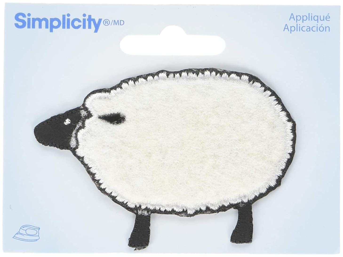 Wrights Sheep Iron-On Applique