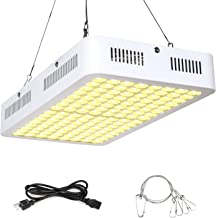 Roleadro LED Grow Light 1000W Full Spectrum 3500k Sunlike Plant Light Dual-Chip with ON/Off Switch and Daisy Chain for Indoor Plants for Seedling,Succulents,Growing,Blooming and Fruiting