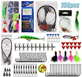 Best Fishing Tackles - 150pcs Saltwater Fishing Lures Surf Fishing Tackle Kit Review