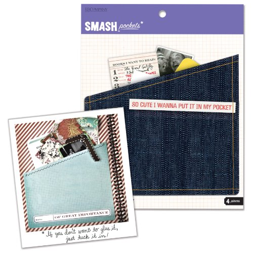 SMASH Buch Ordner Taschen (4Stück)