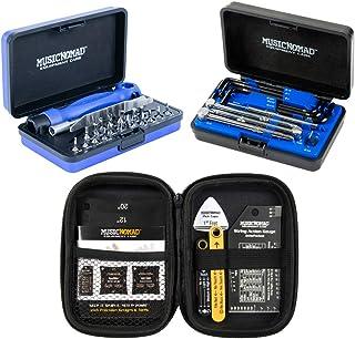 Music Nomad KEEP IT SIMPLE, SETUP (KISS) Starter Kit Bundle - 6 pc. Gauge Set, 26 pc. Guitar Tech Tool Set, 11 pc. Truss R...
