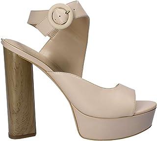 Guess Sandale Femme Noire Argent High Heeled Article FLIAN1