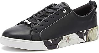 Ted Baker Roully Womens Black Opal Leather Trainers