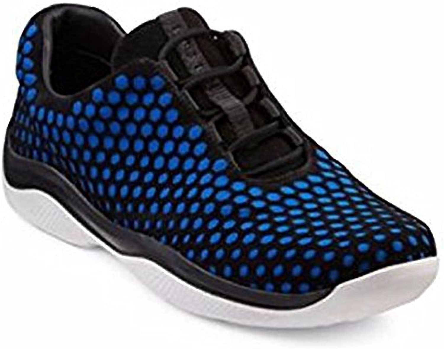 Prada Honeycomb Mesh & Nylon Sneakers shoes Size 41 bluee