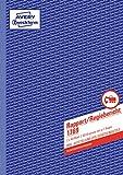 AVERY Zweckform 1769 Rapport/Regiebericht (A4, selbstdurchschreibend, von Rechtsexperten geprüft, für Deutschland und Österreich zur Dokumentation der Arbeitsleistung, 2x40 Blatt) weiß/gelb
