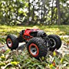 BEZGAR 15 Toy Grade1:14 Scale Remote Control Crawler, 4WD Transform 15 Km/h All Terrains Electric Toy Stunt Cars RC Monster Vehicle Truck Car with Rechargeable Batteries for Boys Kids Teens and Adults #3
