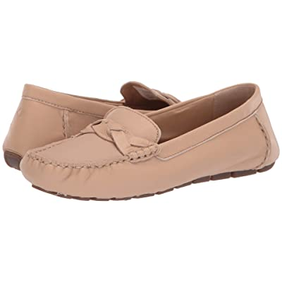 Sperry Bridge Driver Leather (Linen) Women