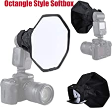 RONSHIN Octangle Style Softbox 20cm Foldable Soft Flash Light Diffuser Camera Photography Softbox for Studio