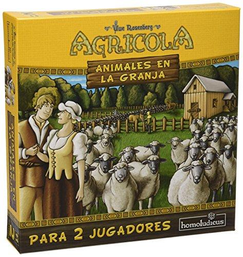 Devir - Agrícola: Animales en la Granja, para 2 Jugadores ...