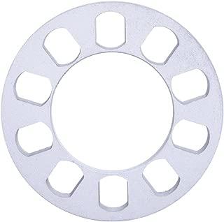 Hot sell 1 PCS Silver Auto Aluminum Alloy Wheel Spacer Gasket 5 hole 12mm Wheel Spacer Gasket for Auto Vehicle