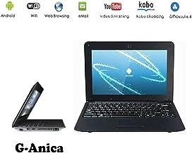 "G-Anica Ordenador portátil de 10.1""(WiFi, 1.5GHz 512"