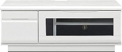 関家具 テレビボード 幅90cm ホワイト エナメル塗装 MDF プリント紙 メリー2 343985