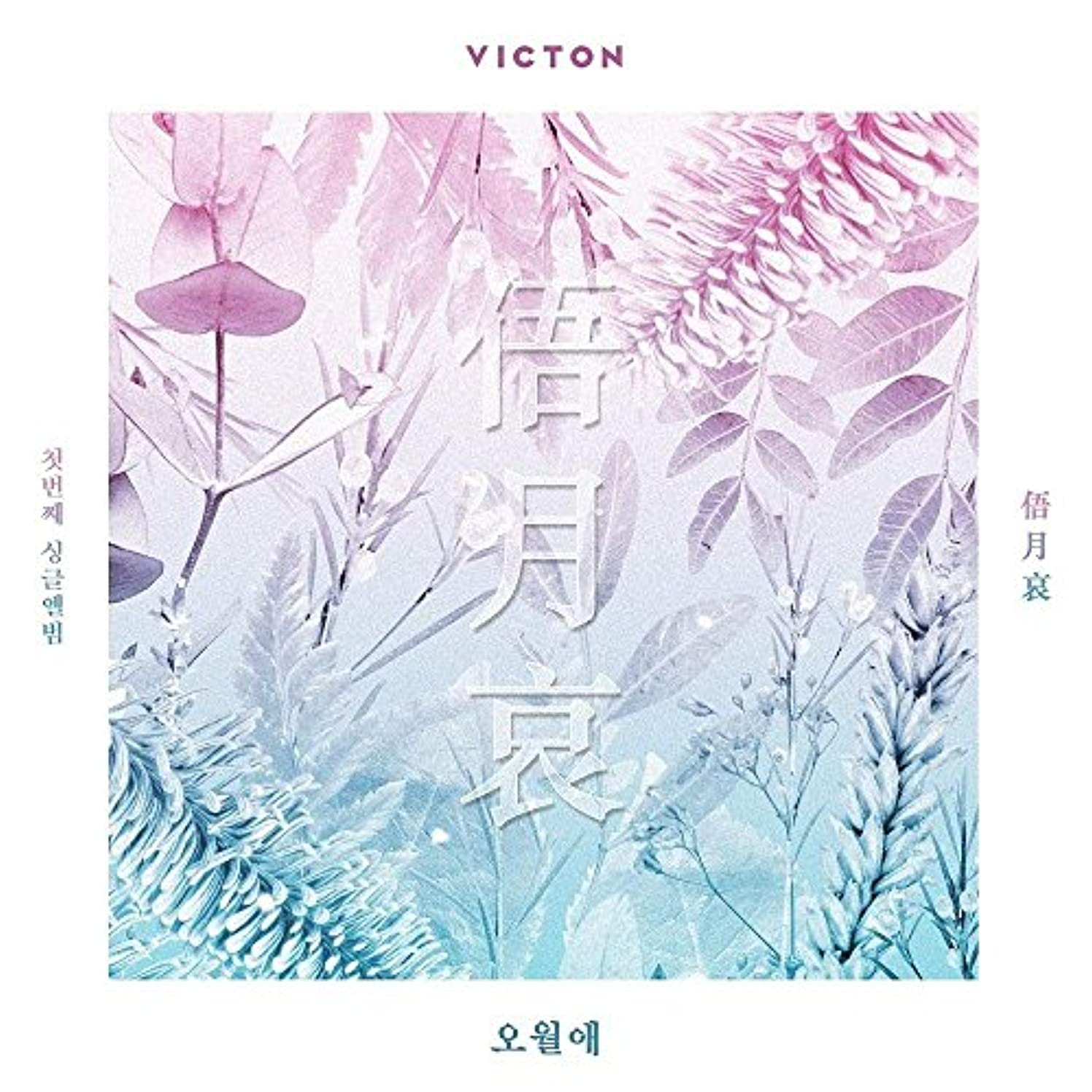 Victon - [Face The Time Of Sorrow/俉月哀/???] 1st Single Album CD+Booklet+PhotoCard K-POP Sealed