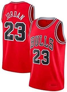 Zhao Xuan Trade Herren Jersey Bulls Vintage NBA-Champion Michael Jordan Jersey Chicago Bulls Nr. 23 Mesh Basketball Swingman Jersey
