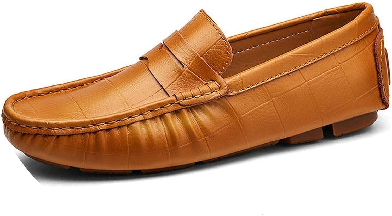 Läder Man Loafers Slip On On On Driving skor män Mjuk Loafers Stor Storlek 38  upp till 60% rabatt