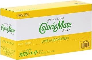 大塚製薬 カロリーメイト ゼリー ライム&グレープフルーツ味 215g×6袋