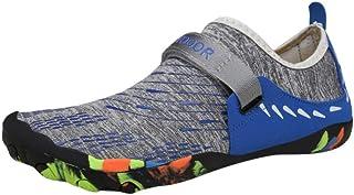 TANGTANGYI Zapatos de Buceo de Verano, Casuales, para Hombre, Planos, para Piscina, Playa, natación, sin Cordones