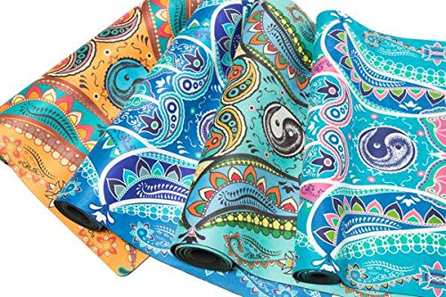 The Brand Roots Presents- New Printed Yoga MAT with Handle Cover (Multicolors)
