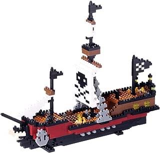 Nanoblock Pirate Ship Building Set