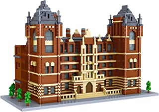 Royal College of Music Mini Building Block Toys 4823pcs World Famous Architectural Model Small Particles, Educational Toys...