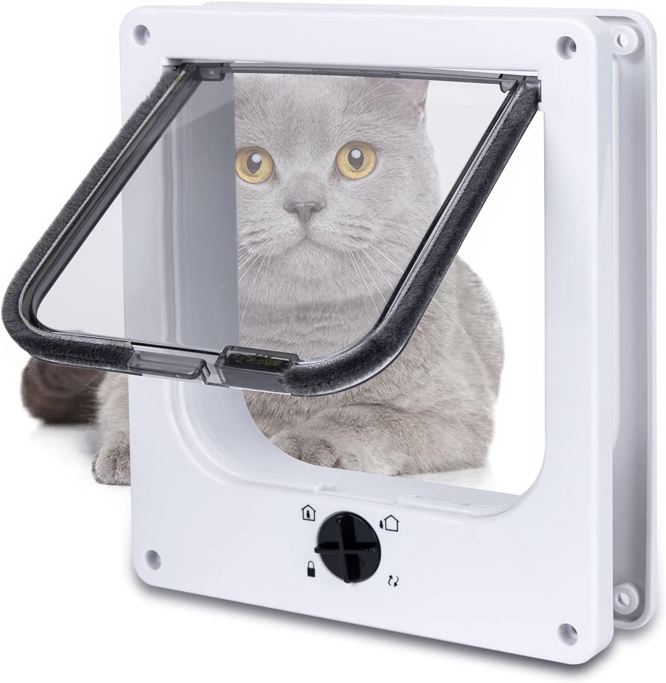 【Upgraded Version】 EGETOTA Cat Doors Flap Inne Bargain Year-end annual account Medium