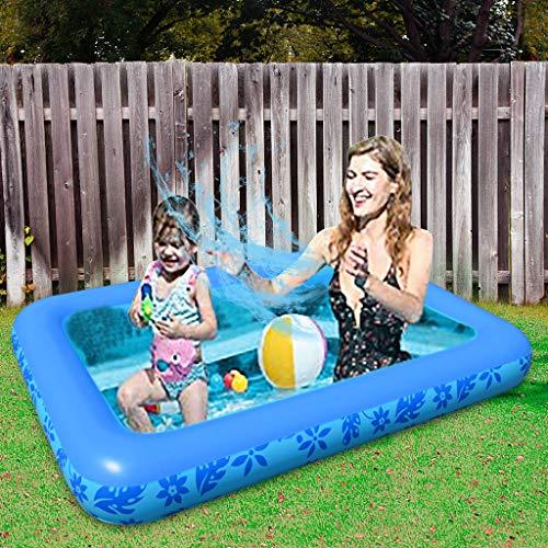 MILONT Bomba hinchable, piscina hinchable, bomba inflable con 2 conectores planos de 220 V, para verano, piscina infantil, piscina interior, exterior, parque acuático, piscina portátil