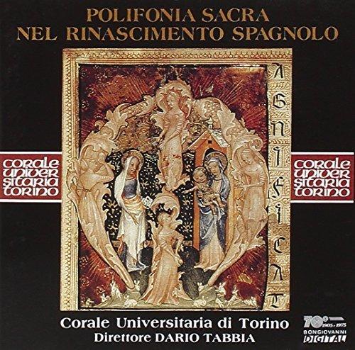 Polifonia Sacra Del Rinascimento Spagnolo by De Anchieta