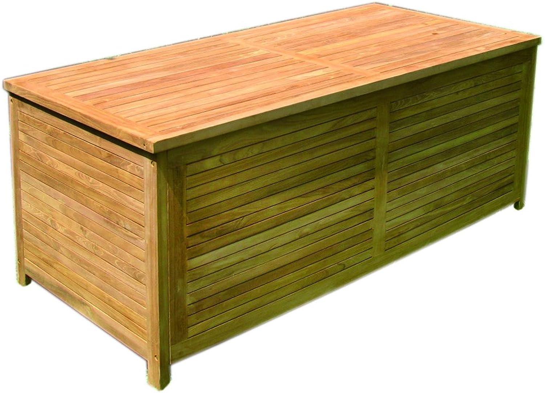 Gartenbox gro aus Holz geschlossene Lattung 145x70x65cm