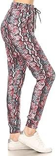 Leggings Depot Premium Women's Joggers Popular Print and...