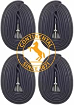 """Continental Race 28"""" 700×18-25c Bicycle Inner Tubes – 42mm Long Presta.."""