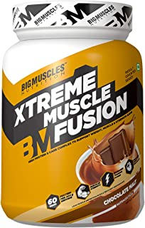 Bigmuscles Nutrition Xtreme Muscle Fusion 2.2 Lbs (Malt Chocolate)