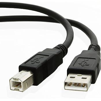 SLLEA 6ft USB Cable Cord Lead for Canon Printer MG2400 MG2950 MG5460 MG5650 MG6821